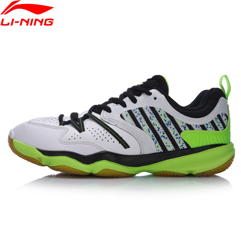Li-Ning Men RANGER Daily Badminton Training Shoes Breathable Sneakers Wear-Resistance LiNing Sports Shoes AYTM081 XYY051 li ning men shoes kason professional badminton shoes training shoes breathable sneakers cushion li ning sports shoes fyzh031