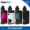 Original Eleaf Pico Squeeze Kit With Coral Vaping Kit E cigarette 50W Pico Squeeze Box Mod & Coral RDA Atomizer Vs 50w Pico Mod