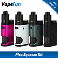 Original eleaf pico apretón kit con coral vaping kit de cigarrillo electrónico 50 w Pico Squeeze Box Mod y Coral Mod RDA Atomizador Vs 50 w Pico