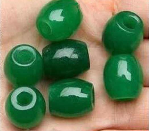 มาเลย์หยกสีเขียวหยกลูกปัดแผนที่ Passepartout หยกสีเขียวโปร่งแสงลูกปัดลูกปัดลูกปัดหยก 13*12 มม.