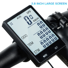 INBIKE Bicycle Computers Wireless 2.8 Touch Screen Bike Computer Speedometer Cycling Rainproof Measurable Stopwatch