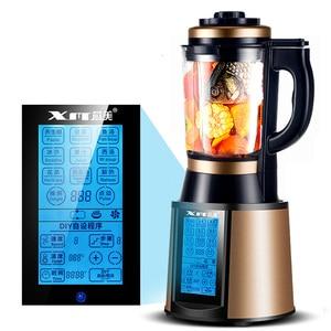 Image 2 - Househlod Multi function Electric Cooking Machine Heating Blender Juice Maker Juicer Kitchen Food Mixer Food Blender