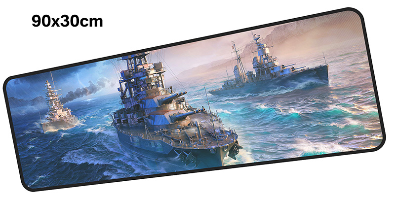 warship mousepad gamer 900x300X3MM gaming mouse pad large Gorgeous notebook pc accessories laptop padmouse ergonomic mat