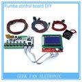 DIY BIQU Румба Румба 3d-принтер управления доска + LCD 12864 контроллер дисплея + перемычка + A4988 Драйвер для reprap 3D принтер KIT103