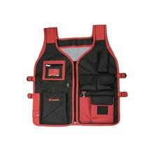 Жилет для инструмента MATRIX 90246 (максимальная загрузка 5 кг, размер 510 х 600 мм, боковые застежки, прозрачный карман для удостоверений, сетчатая ткань на спине)