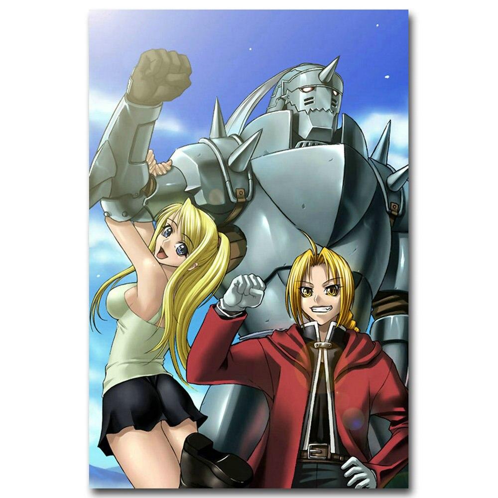 """Fullmetal Alchemist Edward Anime Poster 13x20/"""" 20x30/"""" 24x36/"""" Art Silk Print"""
