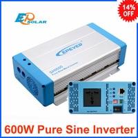 600 Вт EPEVER Чистая синусоида Инвертор 12VDC к 230VAC 220VAC 24VDC к 210VAC 220VAC Бесплатная доставка быстрая доставка SHI 600