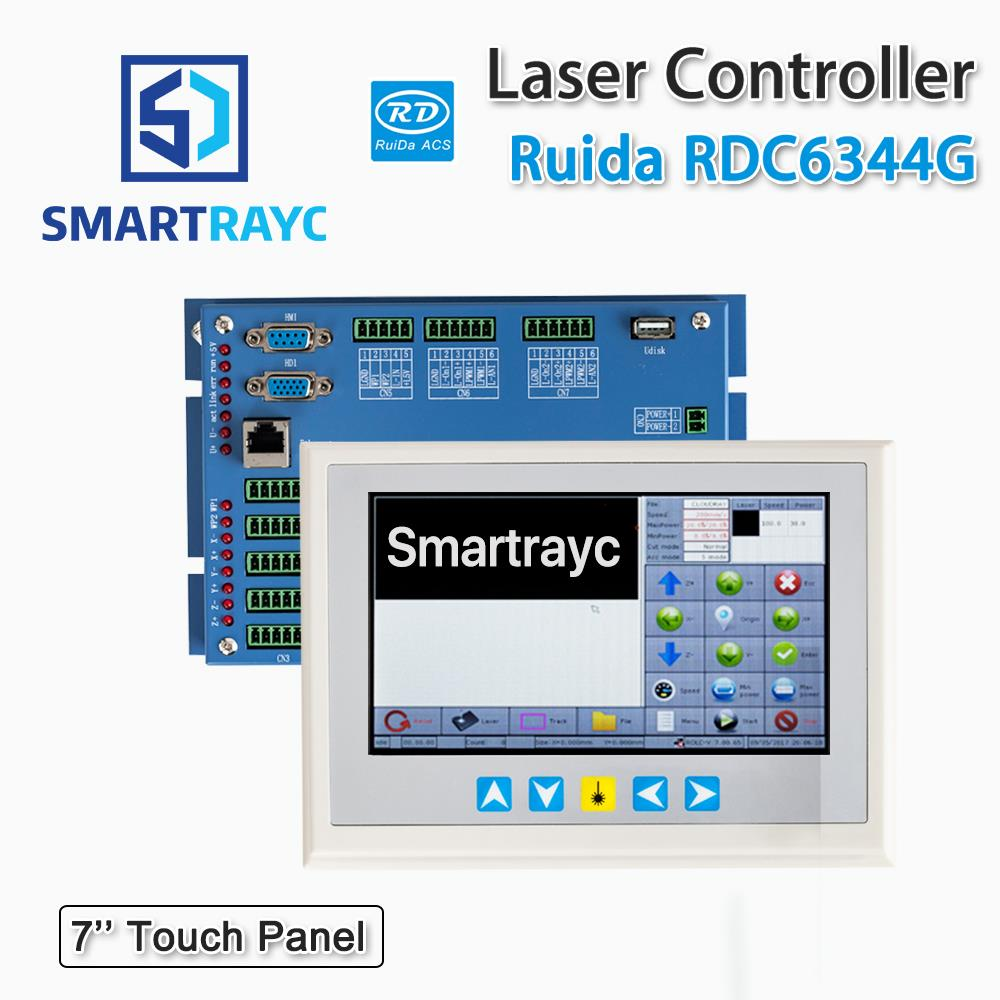 Smartrayc Ruida RD RDC6344G 7 Touch Panel Co2 Laser DSP Controller for Laser Engraving and Cutting Machine RDC DSP 6344G ruida rd rdlc320 a co2 laser dsp controllerr rd320a co2 laser controller use for laser engraving and cutting machine