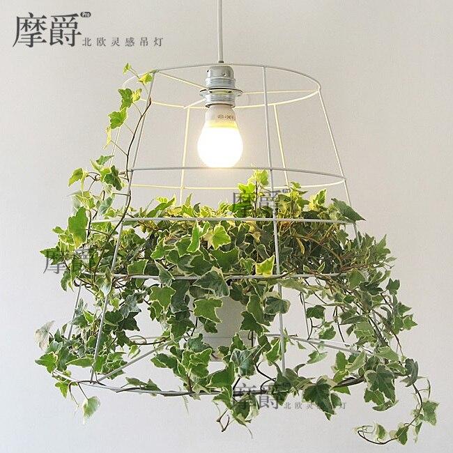 Chandelier Creative Personality Babylon Nordic Green Potted Plant Designer Bedroom Korean Restaurant On Aliexpress Alibaba Group