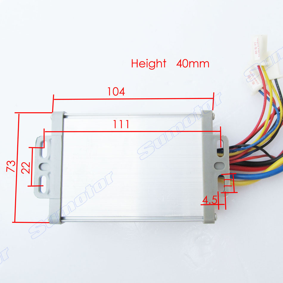 medium resolution of 24v 800w brush speed controller with handle for motor electric bicycle electric bike controller e bike controller scooter in motor controller from home