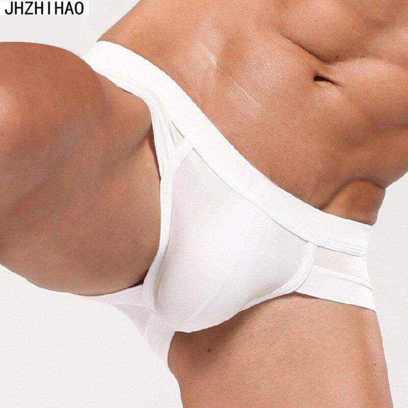 Sexy Breathable underwear men cuecas gay ropa interior hombre cueca boxer jockstrap roupa interior dos homens slip homme