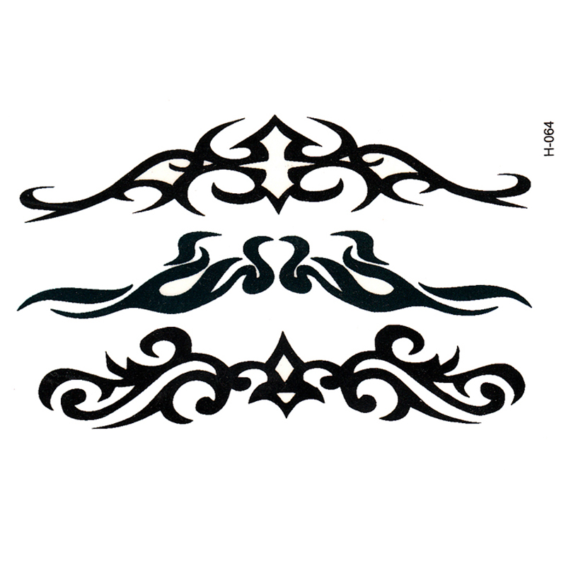 20pcs Beauty Tattoo Waterproof Temporary Tattoos Body Arts Flash Tattoo Tatouage Temporaire Tatuajes Henna Taty Tatto Xha