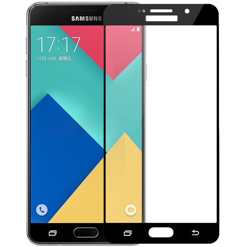 3D Full Cover Tempered Glass on the For Samsung Galaxy A3 A5 A7 2017 J3 J5 J7 2016 2017 Screen Protector Safety Protective Film