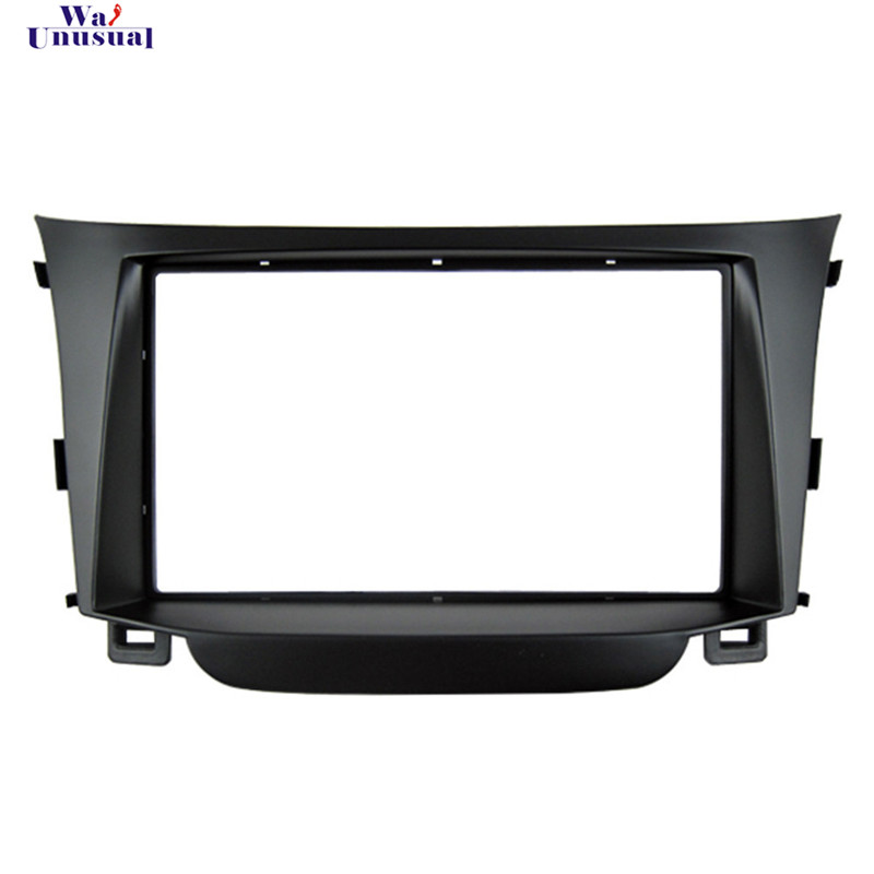HY 007 Top Quality Radio Fascia for HYUNDAI I 30 I30 2011 Stereo Fascia Dash CD Trim Installation Kit Free Shipping