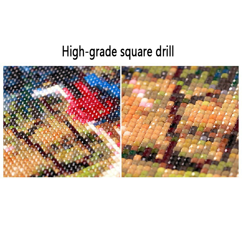 diamentowe zestawy do haftu cross stitch pełne placu robótki - Sztuka, rękodzieło i szycie - Zdjęcie 4