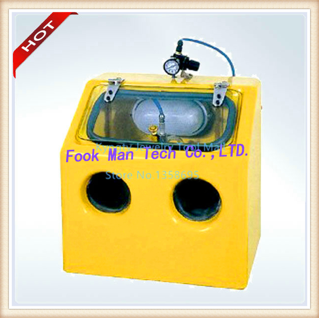 Hot Sale Yellow Color 220V Sand blaster Sandblasting Machine Dental Lab  Sandblaster e0d24b17b3c79