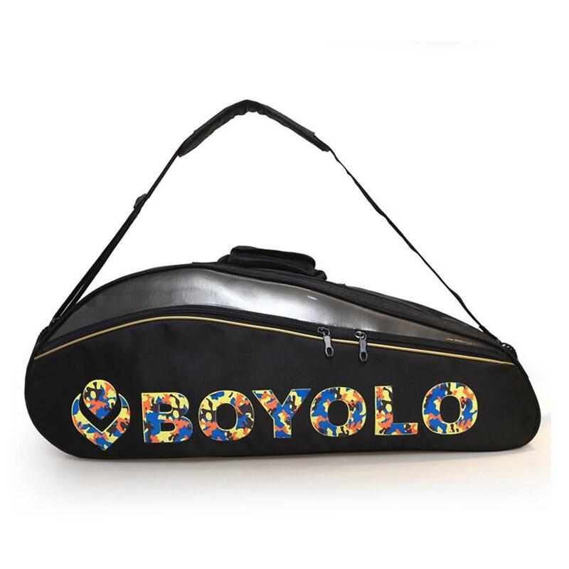 Спортивные Бадминтон сумку на одно плечо ракетки мешок Теннис сумка Для мужчин и Для женщин