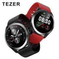 TEZER 2019 Smart Uhr Z03 PPG + EKG Blutdruck Herz Rate Tracker Smart Sport Uhr Smart Armband Fitness Tracker PCG