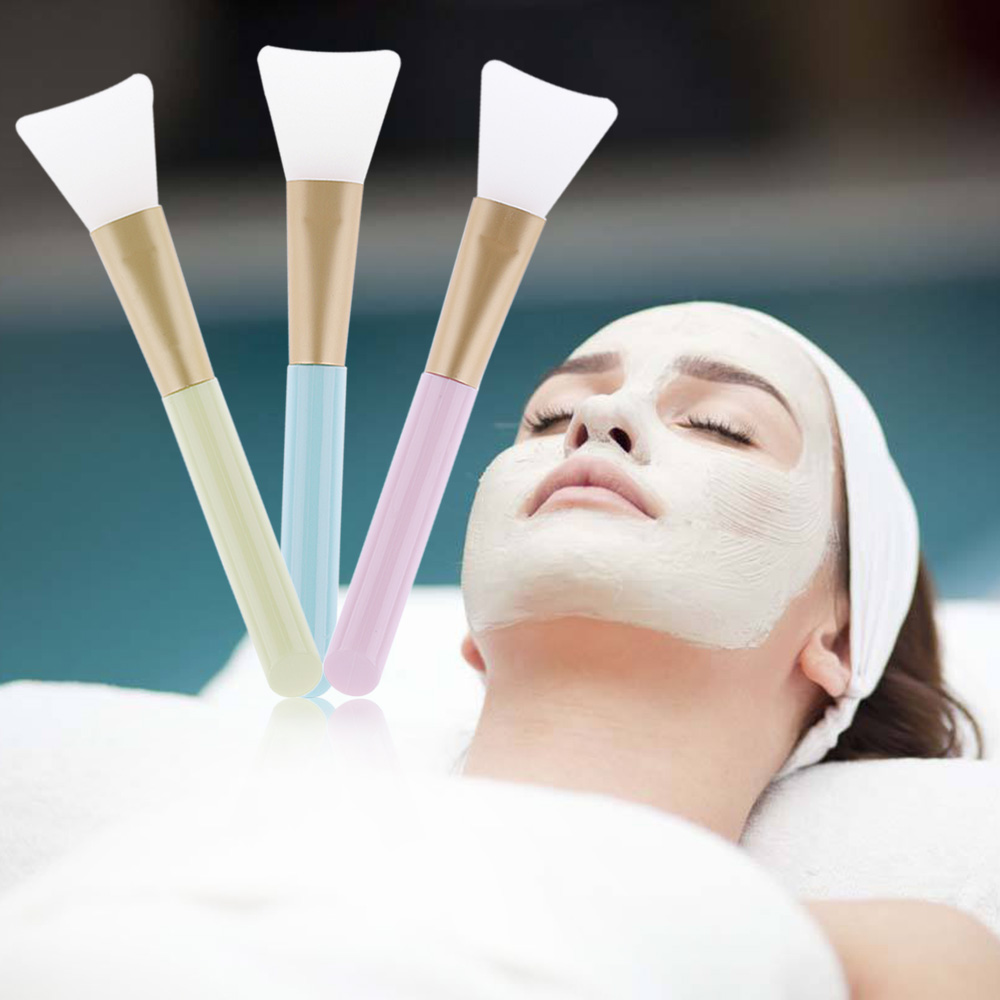 1 Pc Heiße Neue Zufällige Farbe Schönheit Professionelle Silikon Gesichts Gesicht Maske Schlamm Mischen Hautpflege Schönheit Make-up Pinsel Werkzeug Kaufe Jetzt