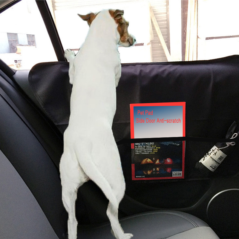 2pcs/lot Pet Car Door Cover Waterproof anti scratch Car Rear Back Seat Pad Door Cover Mat Protectors Fit All Vehicles