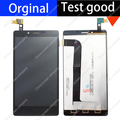 5.5 polegada preto 100% display lcd original + touch screen tp assembléia tp para xiaomi redmi note 1 redmi note1