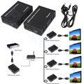 1080 P HDMI Más de Un CAT5E/6 Cable de Red Mediante TCP/IP Tecnología HDCP Divisor Repetidor 100 M Con IR de Control de Bucle