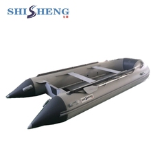 China Supplies High quality Aluminum Floor Inflatable Rubber Boats for Sale