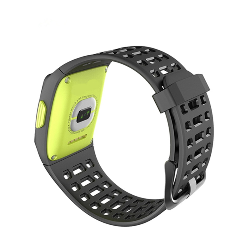 Фотография P1 Smart Wristband 1.3inch Color Screen Heart Rate Monitor GPS Sport Fitness Tracker Bluetooth wristband for Android iOS