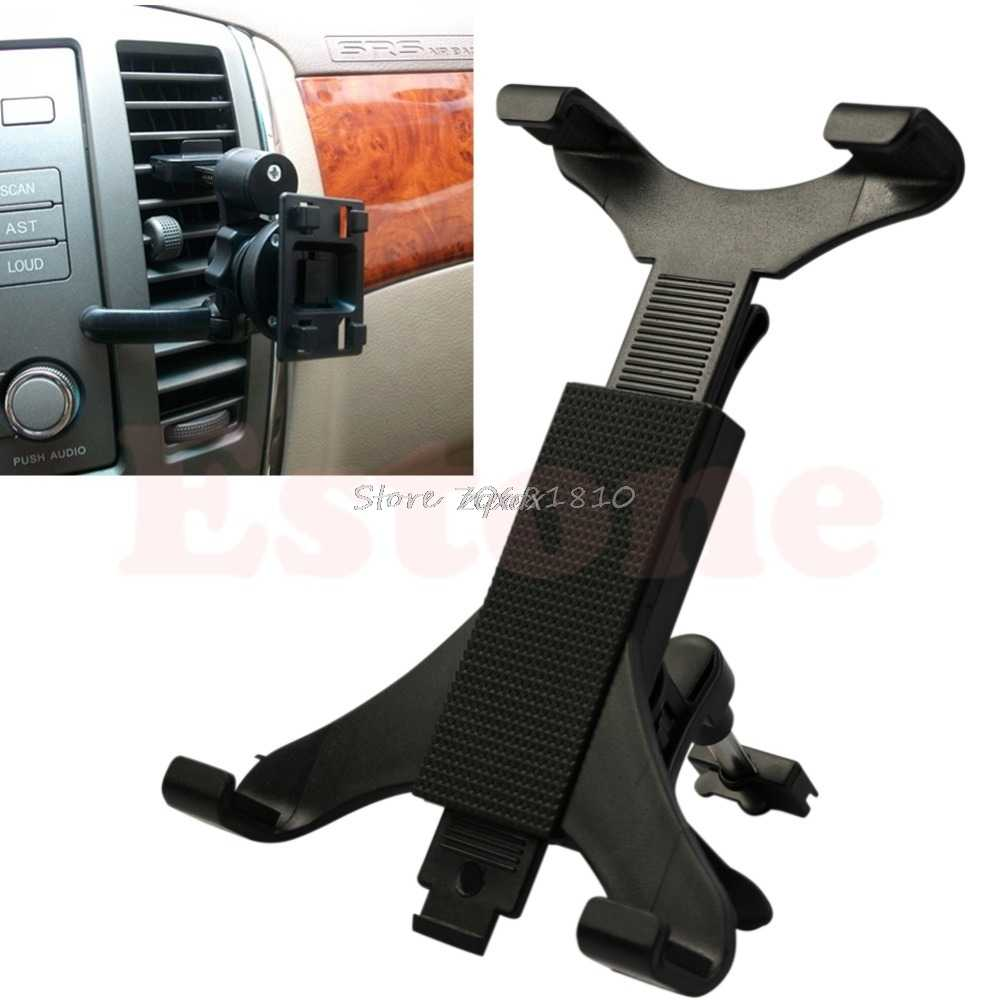 Universal Black Car Holder Air Outlet Stent Vent Mount Holder For iPad Tablet PC Z09 Drop ship