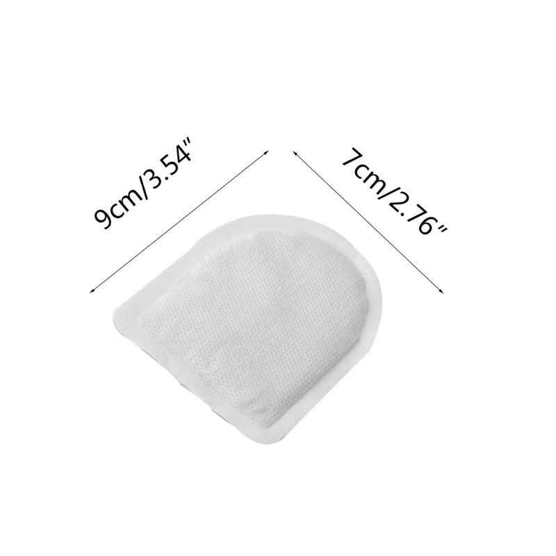 10Pcs Body Warmer Stick Lasting Heat Patch Keep Hand Feet Foot Warm Paste Pads Sticker New