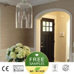 2019 MEIN WIND Grasscloth Luxus Tapete sisal 3D tapeten designs europäischen vintage Wohnkultur Natürliche Wand Papier wohnzimmer