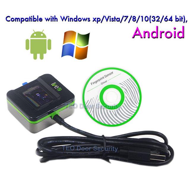 Zkteco live20r andriod leitor biométrico de impressão digital scanner de impressão digital biométrica slk20r inscrição e identificação de desktop dispositivo