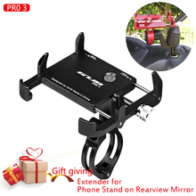 Mobile Phone Holders Stands Bike bicycle motorcycle phone holder moto for 3.5to7.5 Smartphones