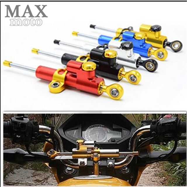 Universal Aluminum Motorcycle CNC Steering Damper For honda Suzuki 2006 2010 GSX R 600 750 K6 & 2005 2006 GSXR 1000 GSXR1000 K5