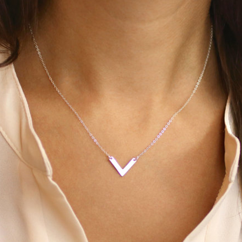 pendant deal fill lucky sweet wishbone charmingmetals shop etsy silver charm gold necklace on everyday dainty