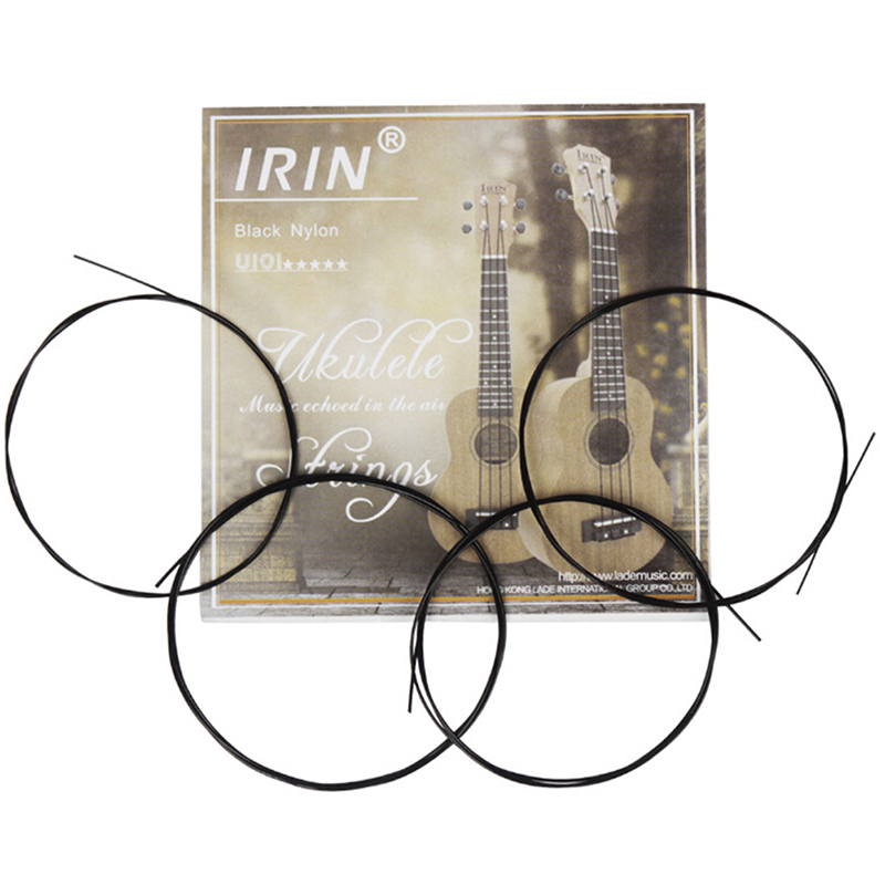 New 4 Pcs/set Strings Replacement Part For 21 Inch 23 Inch 26 Inch Stringed Instrument Nylon Ukulele