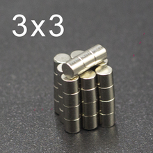 500/1000Pcs 3x3 Neodymium Magnet 3mm x N35 NdFeB Small Round Super Powerful Strong Permanent Magnetic imanes Disc