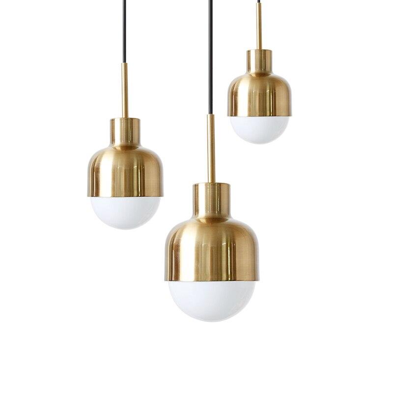 Suspension nordique lampes suspendues danemark moderne Mini Suspension Luminaire Loft Suspension E27 LED ampoule Luminaire lampes