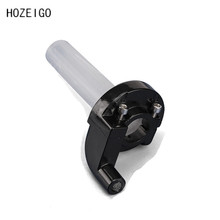 Quick Twist Gas throttle Parts Aluminum Throttle Grip Settle fit Dirt Pit Bike Visual Grips