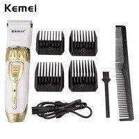 Kemei Rechargeable Professional Hair Clipper Adjustable Haircut Hair Cutting Machine Men S Electric Beard Hair Clipper