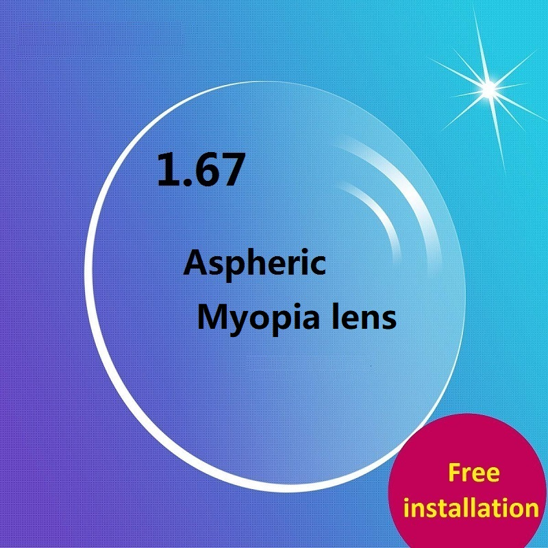 1 67 aspheric Ultra thin Anti pollution Antifo wear resistant coated Green colored resin CR 39 brand eyeglasses lenses for eyes in Eyewear Accessories from Apparel Accessories