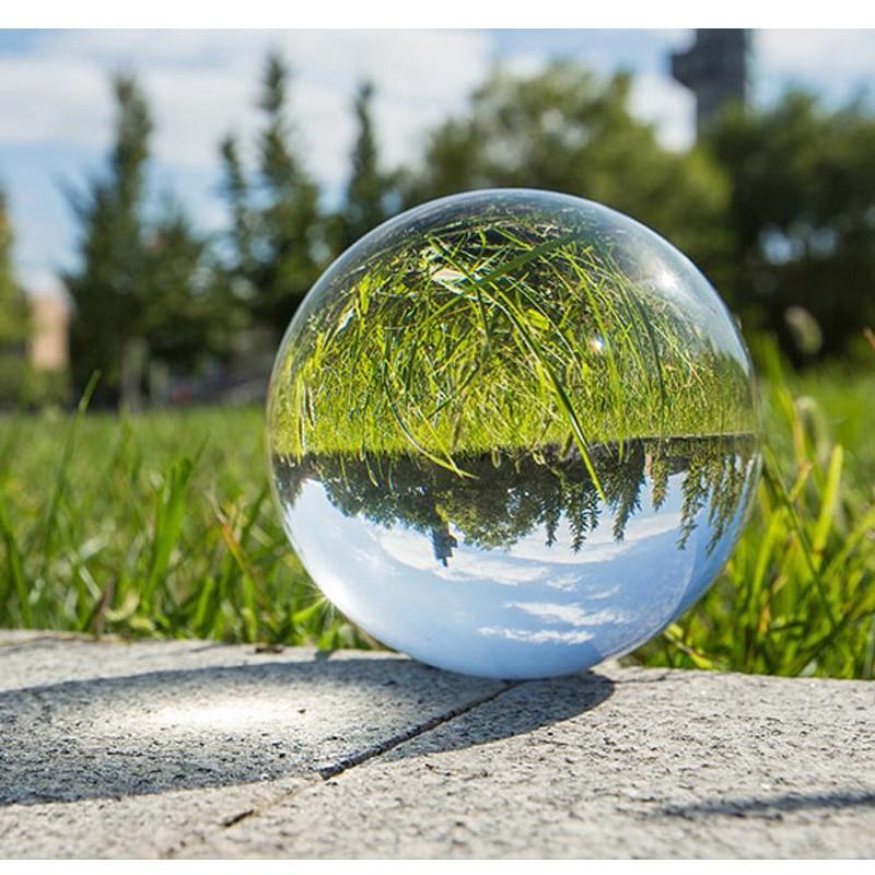 Hot Sale 50 60cm Decorative Balls Magic Crystal Ball Quartz Fengshui