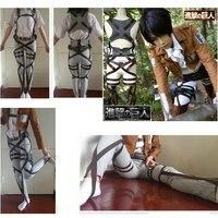 Attack On Titan Cosplay Costumes Shingeki No Kyojin Cosplay Recon Corps Harness Belts Hookshot Fancy Straps