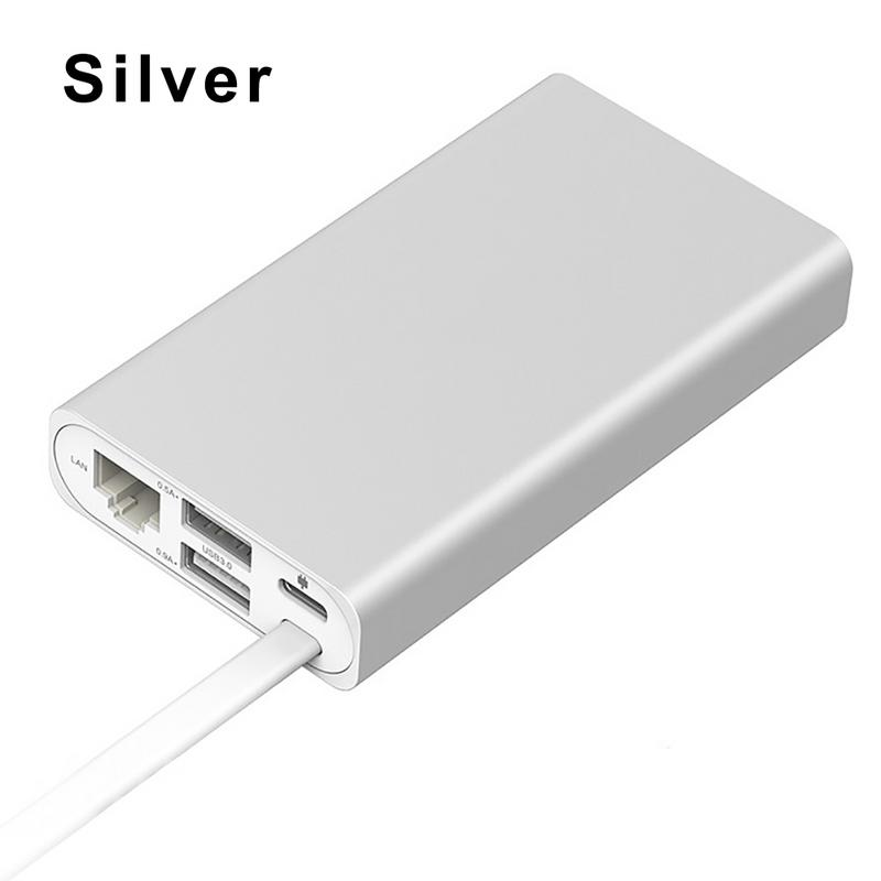 ORICO Type-C Extender For Macbook Converter USB-C to HDMI VGA Ethernet Port USB Hub стоимость