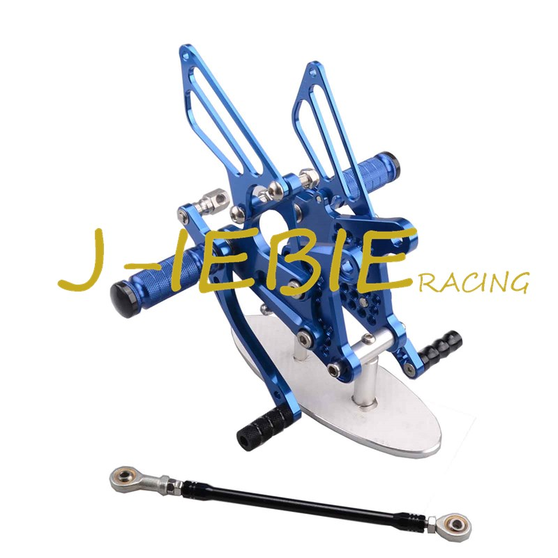 CNC Racing Rearset Adjustable Rear Sets Foot pegs Fit For Kawsaki NINJA ZX6R 2009 2010 2011 2012 2013 2014 2015 2016 BLUE motorcycle fz1 fz8 adjustable rearset rear set foot rests foot pegs for yamaha fz1 2006 2014 and fz8 2010 2011 2012 2013 new