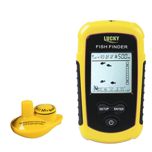 Wireless Fish Finder Sonar Fishfinder 40m Depth Range Lake Ocean Sea Fishing New