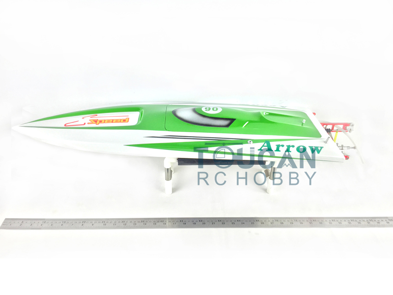 E36 PNP Sword Fiber Glass Racing Speed RC Boat W/1750kv Brushless Motor/120A ESC/Servo Boat Green e36 pnp sword fiber glass racing speed rc boat w 1750kv brushless motor 120a esc servo boat yellow