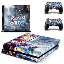 Horizon Zero Dawn PS4 Skin Sticker Decal For Sony PlayStation 4 Console and 2 Controllers PS4 Skin Sticker Vinyl