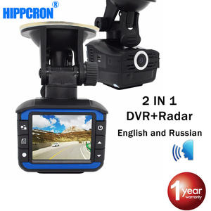 DVR Radar-Detector Speed-Gun Russian English-Voice Night-Vision Ka-X-Antiradar Car And