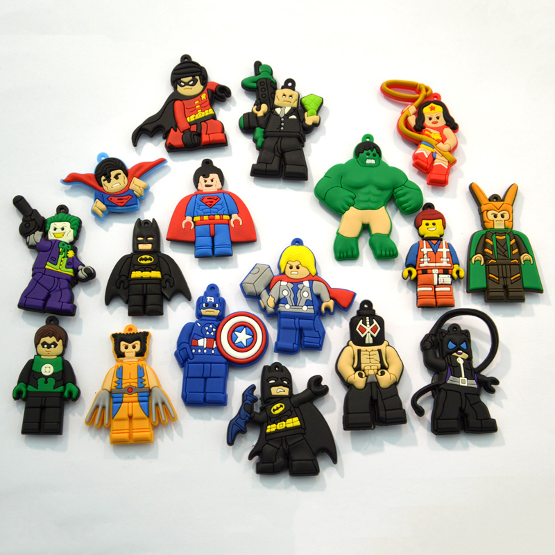 Furniture Accessories 160pcs Superhero Cartoon Pvc Shoe Buckles Shoe Charms Fit For Shoes&wristbands With Holes Furniture Accessories Kids Favors